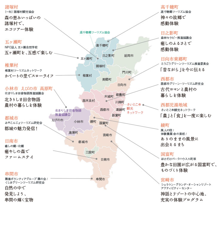 活動紹介マップ